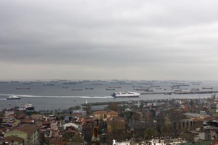 marmara: Ships in Marmara Sea, Istanbul, Turkey