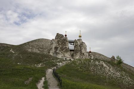 voronezh: Cave Monastery in Kostomarovo, Voronezh Region, Russia