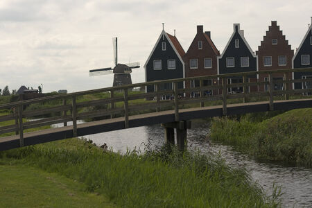 volendam: Volendam - a small town in the Netherlands.