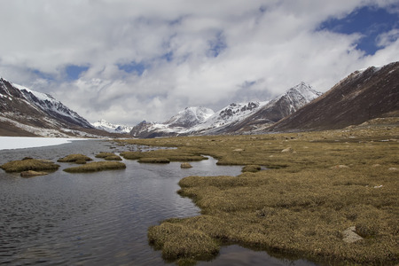 tyan shan: Barskoon valley in Kyrgyzstan, Tien Shan mountains.