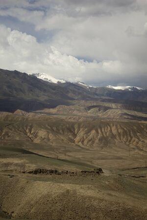 issyk kul: Mountain landscape, Tien Shan, Kyrgyzstan.