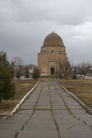 samarkand: Rukhabad (Ruhabad) Mausoleum in Samarkand, Uzbekistan.