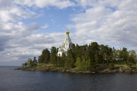 monasteri: I famosi monasteri della Russia. Valaam isola, Carelia. Nikolsky Skete.