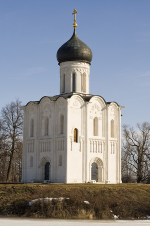 intercession: Church of Intercession upon Nerl River, Bogolubovo, Vladimir region, Russia