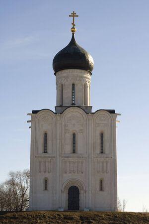 nerl river: Church of Intercession upon Nerl River, Bogolubovo, Vladimir region, Russia
