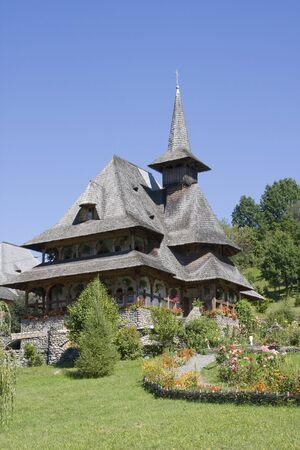 Wooden Church in Maramures, Romania. photo