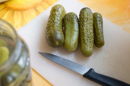 pickles: Encurtidos Foto de archivo