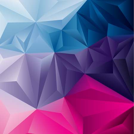 Edgy abstract background  Vector illustration