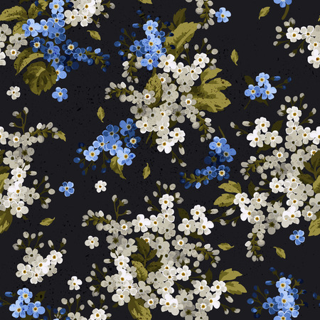 Patrón floral sin fisuras Foto de archivo - 28456536