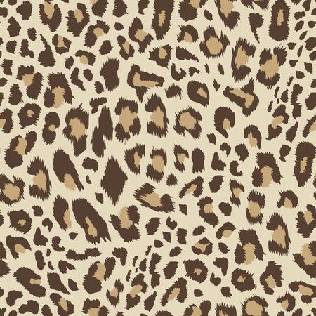 Leopard wzór, bezszwowe tło Ilustracja wektorowa.