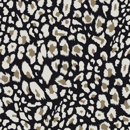 Leopard pattern, Vector illustration.