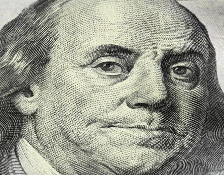 Money close-up. dollars Stock Photo