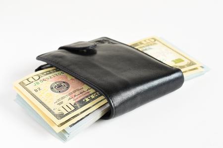 Money usd cash. Money in wallet
