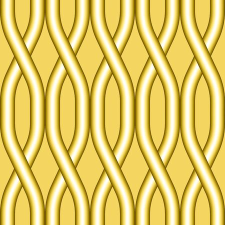 Abstract geometric seamless pattern. Seamless vector wave pattern background Illustration