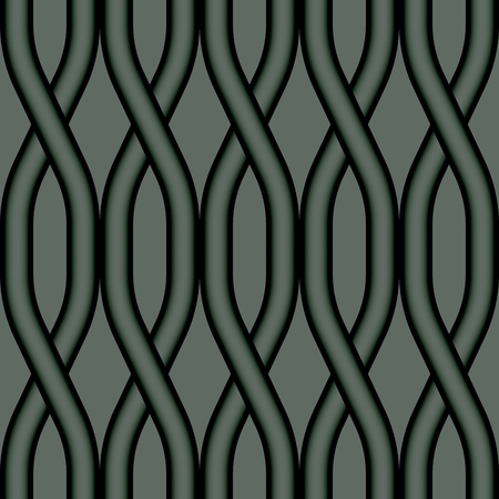 intricacy: Seamless pattern with geometrical figures. Seamless vector abstract wave pattern background Illustration