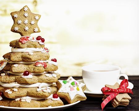 gingerbread cookies: Christmas cookies. Christmas gingerbread