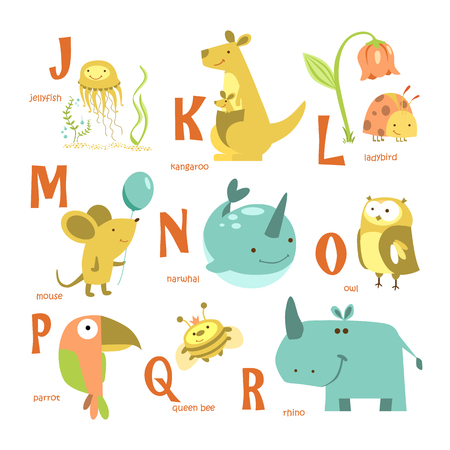 Alphabet and animals