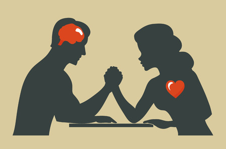 When dating couples wrestle with conflicts