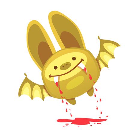 Bat and halloween. Halloween Bat Vector Icon