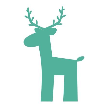 Deer silhouette icon