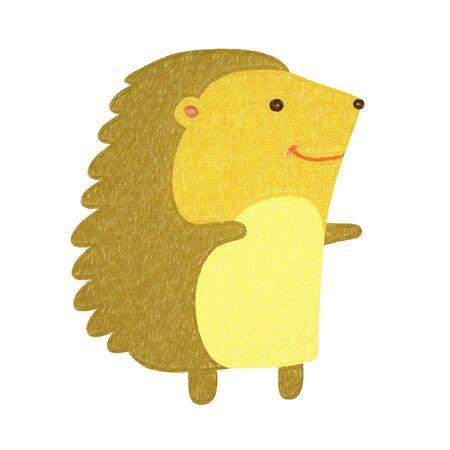 animals set - hedgehog Imagens