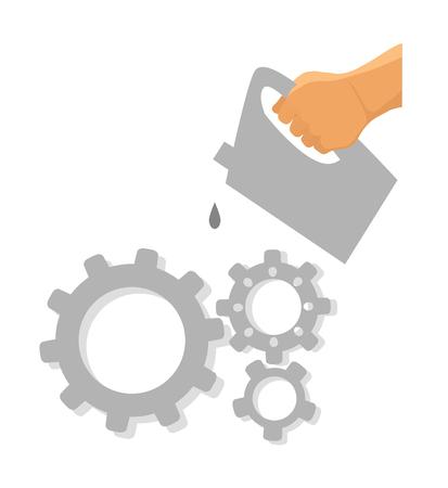 Service tool icon.
