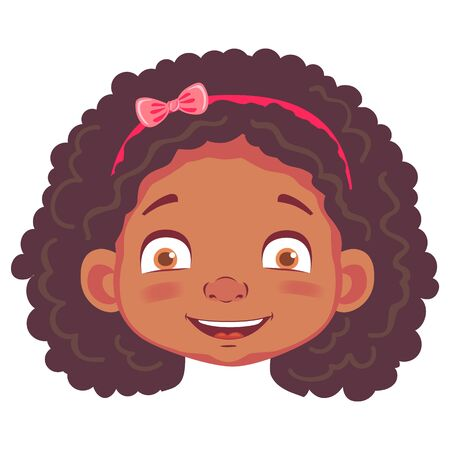 african girl character