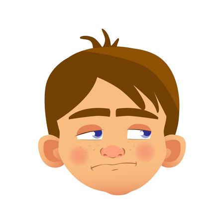 caucasian boy character