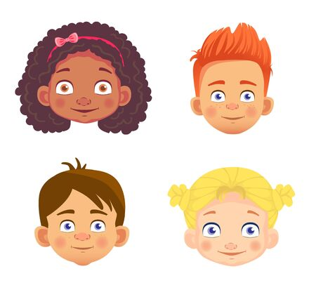 emotions of a childs face