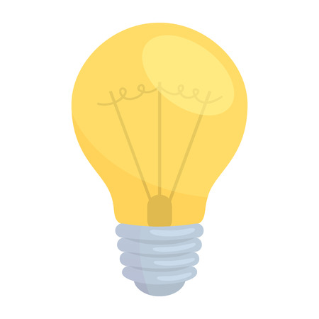 Electric lamp illustration