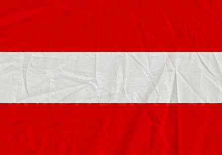 Austria grunge flag. Patriotic background. National flag of Austria Standard-Bild - 116000685