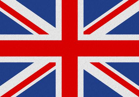 United Kingdom paper flag. Patriotic background. National flag of United Kingdom