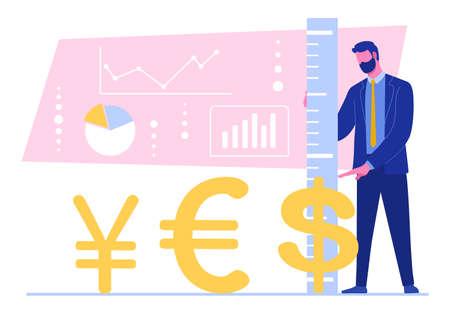 exchange rate of different currencies Çizim