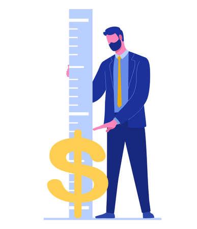 dollar exchange rate 免版税图像