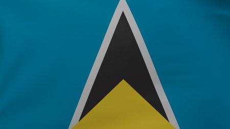 Saint Lucia flag texture Foto de archivo