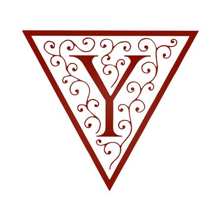 artistically: Logo design. Artistically Drawn Vintage Floral Vector illustration. Illustration