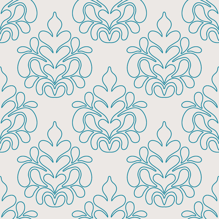 Arabic vintage decorative design seamless pattern