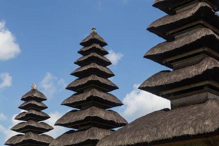 taman: Bali, Indonesia - July 02, 2015: Photograph of the hindu temple Pura Taman Ayun