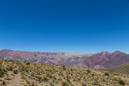 multi national: Mountain of fourteen colors, Quebrada de Humahuaca in the Northwest of Argentina