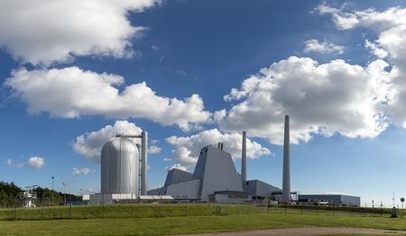 Copenhagen, Denmark - September 21, 2016: Avedoere power plant just south west of Copenhagen. Editorial