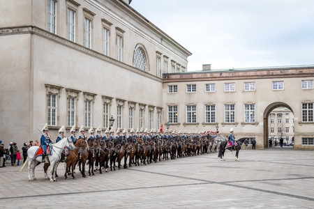hussar: Royal New Year Celebration in Copenhagen, Denmark