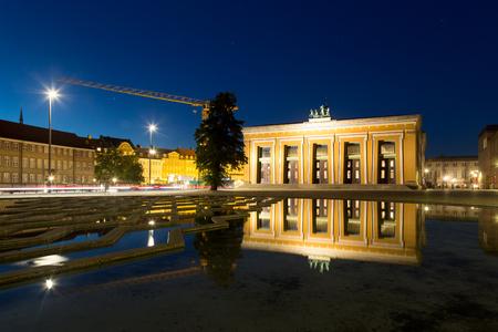 Thorvaldsen Museum in Copenhagen Редакционное