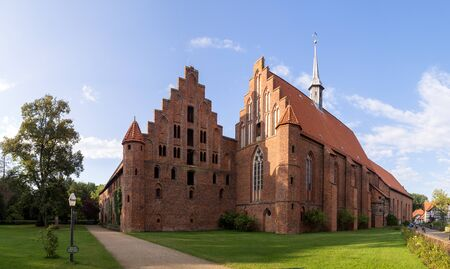 lutheran: Wienhausen Abbey at Celle, Germany Editorial