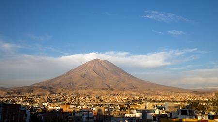 nevado: Yanahuara Viewpoint in Arequipa