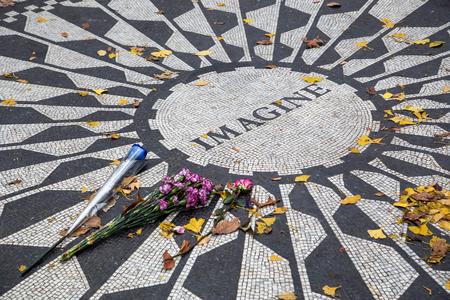 John Lennon Memorial NYC