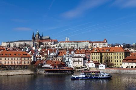 Vlata River Waterfront in Prague
