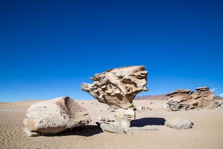 Stone formation Arbol de Piedra Stock Photo