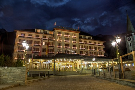 Grand Hotel Zermatterhof Editorial