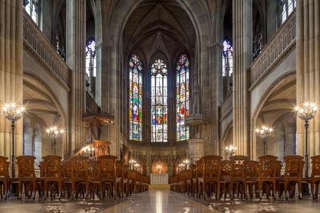 Elisabethenkirche in Basel, Switzerland Editorial