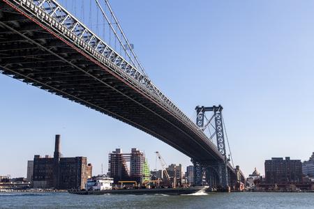 Williamsburg Bridge in Manahattan, New York